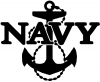 Navy With Anchor