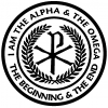 Chi Rho Monogram Alpha And Omega Christian car-window-decals-stickers