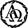 Alpha Omega Monogram Christian car-window-decals-stickers