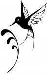 Hummingbird Animals Car Truck Window Wall Laptop Decal Sticker