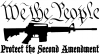 Protect The Second Amendment AR 15 Hunting And Fishing car-window-decals-stickers