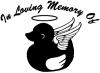 In Loving Memory Of Duck Angel