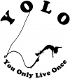 YOLO You Only Live Once Bungie Jump