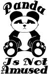 Panda Is Not Amused