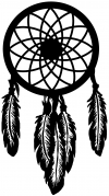 Dreamcatcher  Western Car Truck Window Wall Laptop Decal Sticker