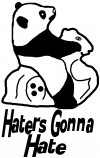 Haters Gonna Hate Panda