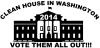 Clean House In Washington 2014