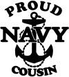 Proud Navy Cousin