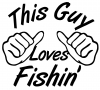 This Guy Loves Fishing