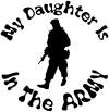 My Daughter Is In The Army