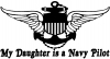 My Daughter Is A Navy Pilot Anchor Wings
