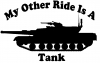 My Other Ride Is A Tank
