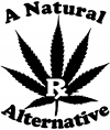 A Natural Alternative Medical Marijuana Other Car Truck Window Wall Laptop Decal Sticker