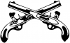 Military Police Cross Pistols