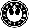 Star Wars New Republic Emblem