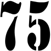 75 Other Car or Truck Window Decal