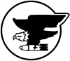 69th Bomb Squadron Military Car Truck Window Wall Laptop Decal Sticker