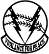 524th Bomb Squadron Vigilance For Peace Military Car Truck Window Wall Laptop Decal Sticker
