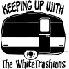 Keeping Up With The Whitetrashians Funny Car Truck Window Wall Laptop Decal Sticker