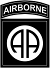 82nd Airborne Military Car Truck Window Wall Laptop Decal Sticker