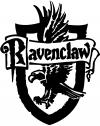 Harry Potter Ravenclaw Crest  Car Truck Window Wall Laptop Decal Sticker