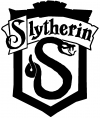Harry Potter Slytherin Crest
