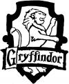 Harry Potter Gryffindor Crest  Car Truck Window Wall Laptop Decal Sticker