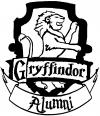 Harry Potter Gryffindor Alumni