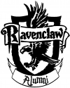 Harry Potter Ravenclaw Alumni  Car Truck Window Wall Laptop Decal Sticker