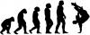 Skateboarding Evolution Handplant