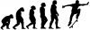 Skateboarding Evolution Ollie