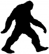 Bigfoot Sasquatch Monster Sci Fi car-window-decals-stickers