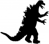 Godzilla Monster Sci Fi car-window-decals-stickers