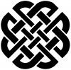 Celtic Knot Of Protection  Car Truck Window Wall Laptop Decal Sticker