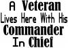 A Veteran Lives Here