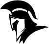 Spartan Knight Helmet Sci Fi Car Truck Window Wall Laptop Decal Sticker