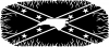 Confederate Rebel Battle Flag North Carolina