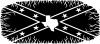 Confederate Rebel Battle Flag Texas