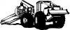 Log Skidder Business Car Truck Window Wall Laptop Decal Sticker