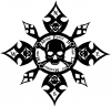 Skull Compass Death is Clear Hour is Unknown Remember you will Die Skulls Car Truck Window Wall Laptop Decal Sticker