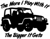 The More I Play With It The Bigger It Gets Jeep