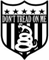 Gadsden Dont Tread On Me Shield