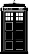 Dr Who Tardis Police Box