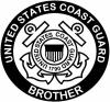 United States Coast Guard Brother Military Car Truck Window Wall Laptop Decal Sticker