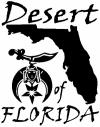 Shriner Desert of Florida Other Car Truck Window Wall Laptop Decal Sticker