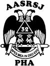 Scottish Rite Wings 32nd AASRSJ PHA Other car-window-decals-stickers