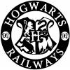 Hogwarts Railways Harry Potter Sci Fi Car Truck Window Wall Laptop Decal Sticker