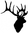 Deer  Hunting And Fishing car-window-decals-stickers