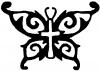 Butterfly wings with Cross Body