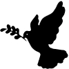 Dove Christian car-window-decals-stickers